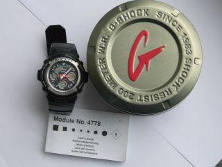 Casio G - Shock Quarz Analog Digital - Uhr Edelstahl 4778 In Ovp Bild