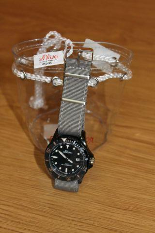 S.  Oliver - Uhr - Herrenuhr - Damenuhr - Datum - Armbanduhr So - 2694 - Lq Uvp 59,  95€ Bild