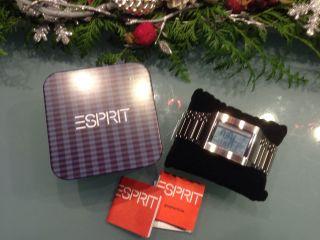 Herren Armbanduhr Esprit Future Mission Silver Top Frische Batterie Bild