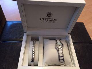 Citizen Sportuhren Ew1365 Ecodrive Armbanduhr Für Damen (ew1365 - 52e) Bild