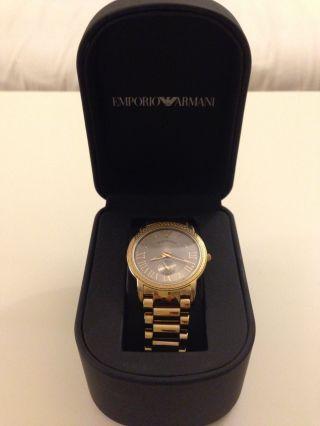 Emporio Armani Uhr - Gold Bild