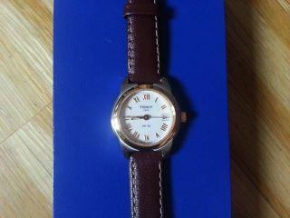 Tissot Armbanduhr Uhr,  Leder Armband,  Für Damen,  Damenuhr,  Pr 50 Watch T34221113 Bild