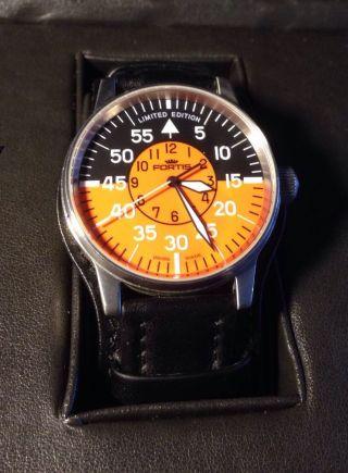 Uhr Herrenuhr Fliegeruhr Fortis Limitiert Bild