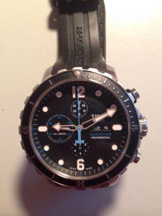 Analoge Taucheruhr Tissot Seastar 1000 Professional Chronograph - Bild