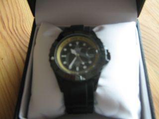 Armbanduhr ähnlich Ice Watch Schwarz Mit Silikonarmband Unisex Bild