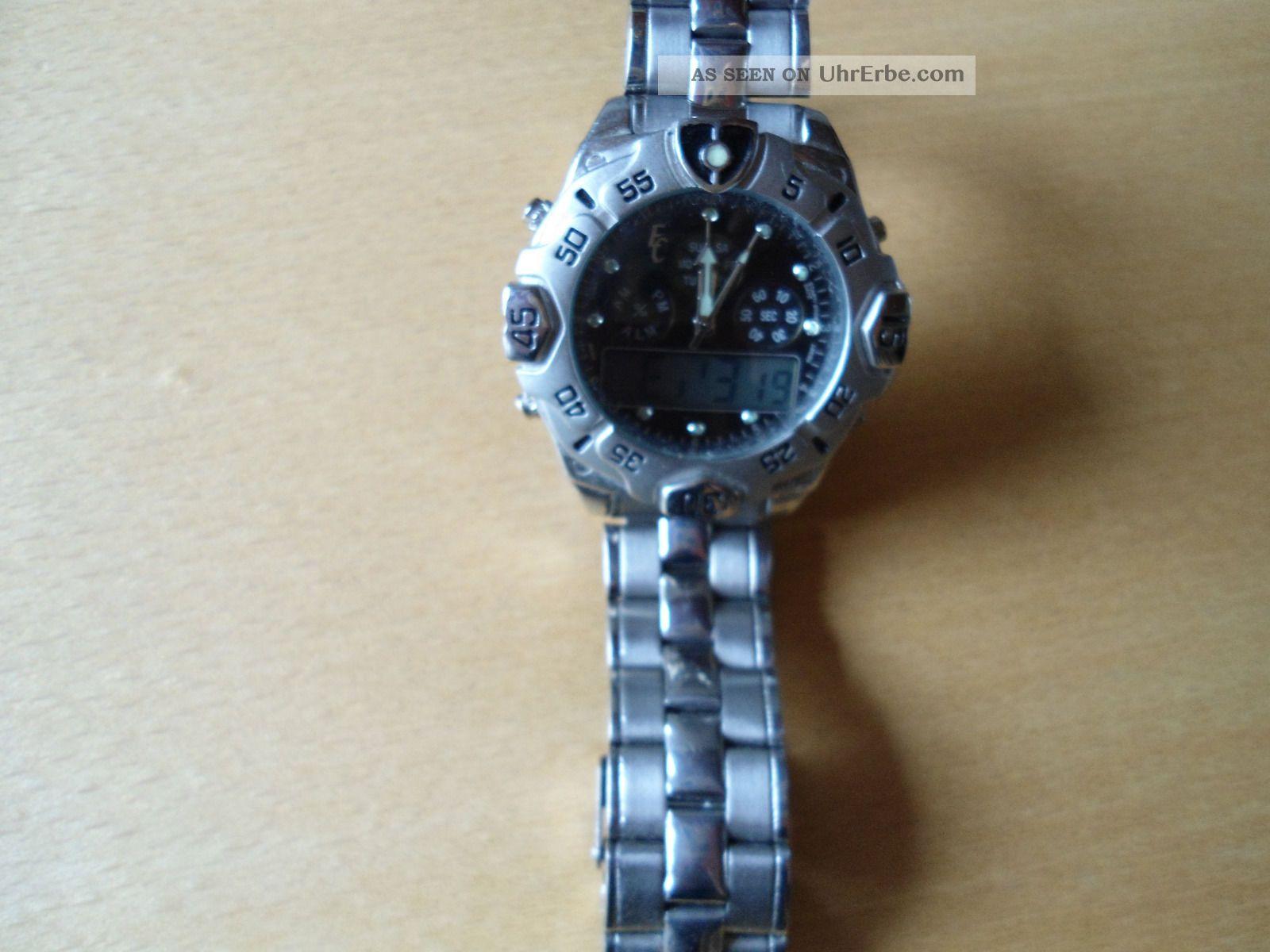 Armbanduhr Eric Chevillard In Military Outdoor Style Defekt Armbanduhren Bild