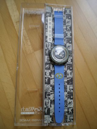 Swatch Armbanduhr Scuba Mit Key Watch Access Skipassfunktion Bild