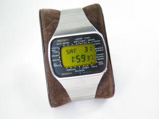 Seiko Lcd Armbanduhr M158 - 5000 Um 1970 Bild