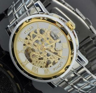 Elegante Mechanische Männeruhr Mce Chronograph Ovp Watch Armbanduhr Uhr Bild