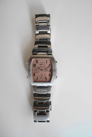Armbanduhr Yorn Chronograph Herren Bild