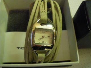 Damenuhr Von Tom Tailor,  Beiges Armband Bild