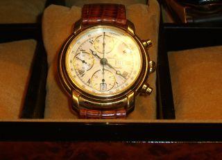 Maurice Lacroix Chronograph Masterpice Automatic Ref.  39353 Herrenuhr Bild