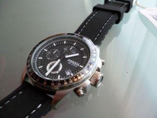 Neu: Fossil Chronograph - Uhr In Originalverpackung Mit Etiketten Bild