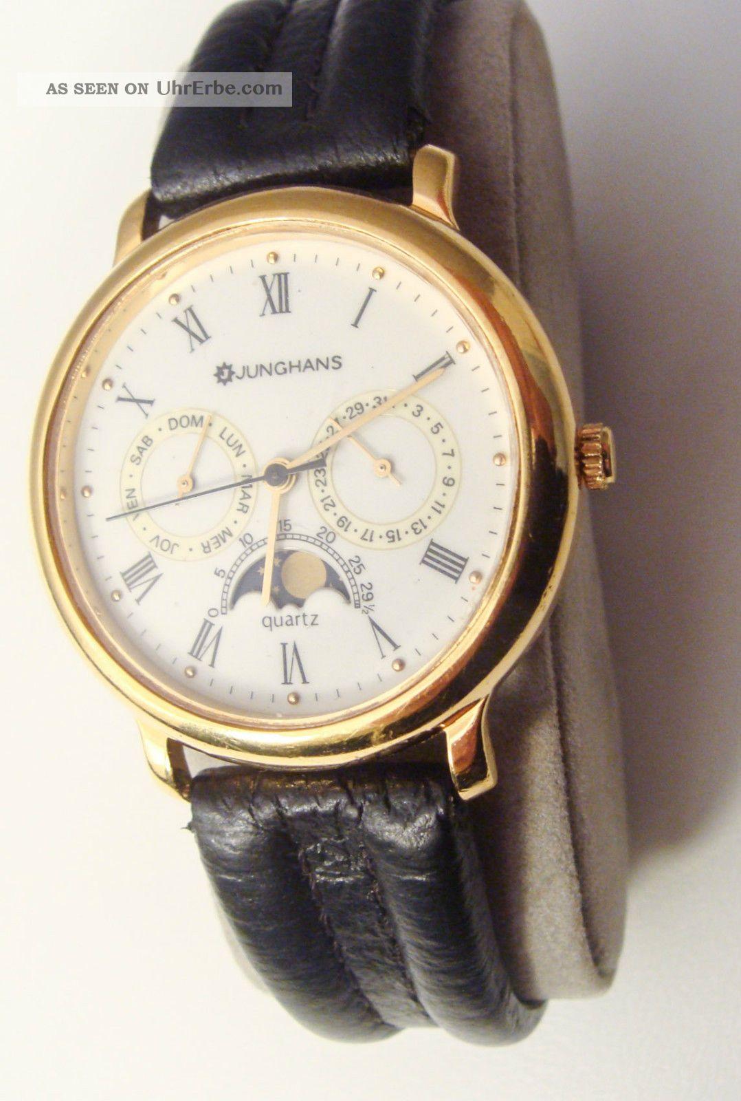 Junghans Herrenuhr Armbanduhren Bild