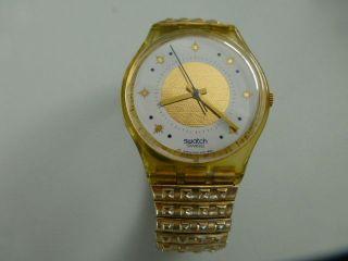 Armbanduhr Swatch Golden Waltz Bild