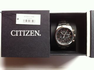 Citizen Eco Drive - Analoge Herren Armbanduhr - At8017 - 59e Bild