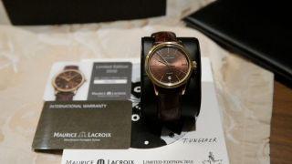 Maurice Lacroix Les Classiques Date Automatik Limited Edition 2010 Lc6017 - Pvy01 Bild