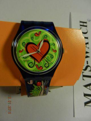 Swatch - Special,  Love Bite,  Valentine - Special,  Apfel, Bild