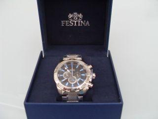 Festina Uhr Herren - Chronograph Chrono F16488/3 Bild