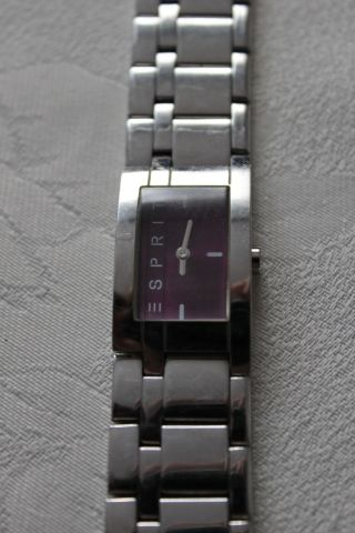 Esprit Houston Glam Damenuhr Edelstahlarmband Quarz - Uhr Bild
