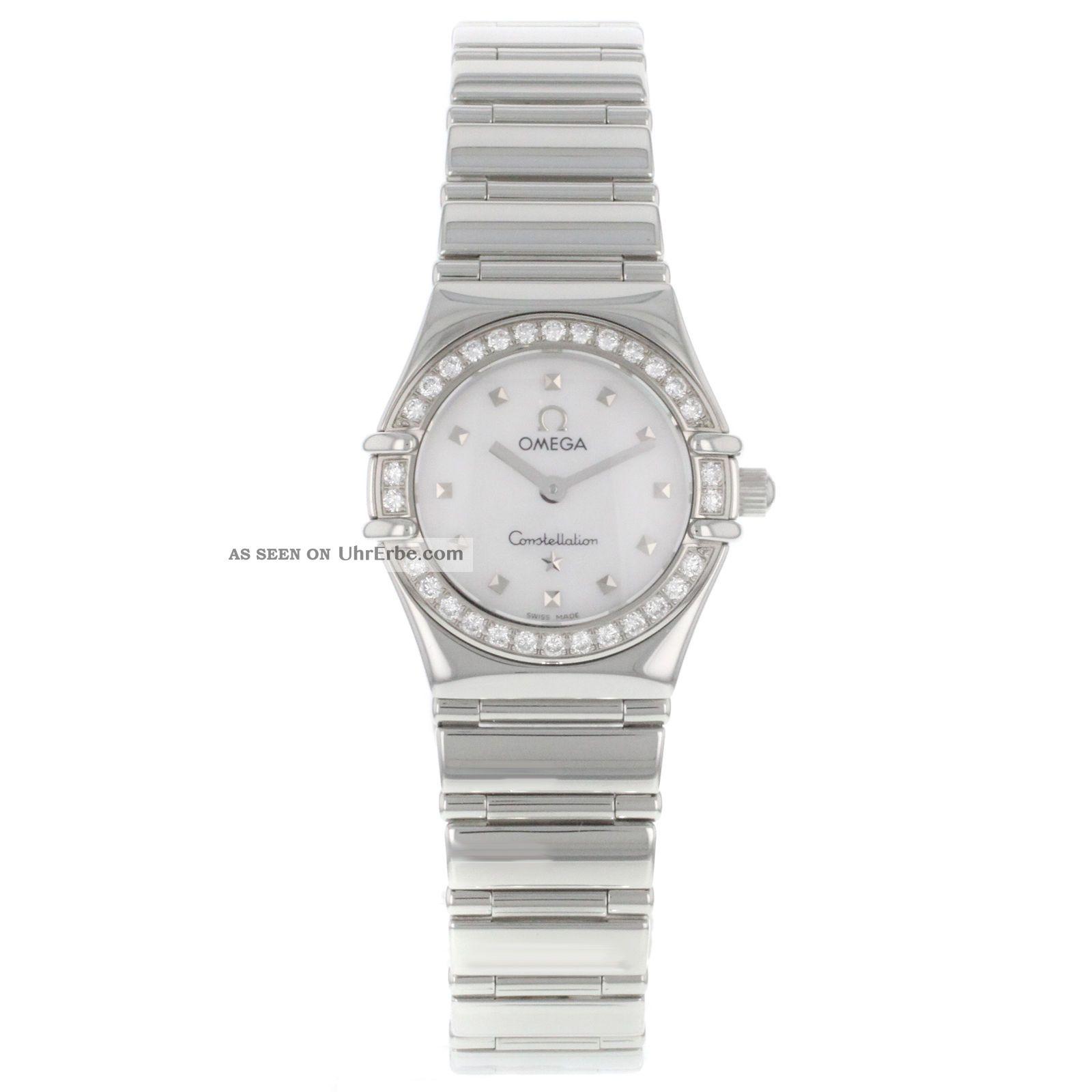 Armbanduhr Damen Omega Constellation 1465 71 00 Mop Fabrik