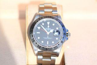 Rolex Oyster Perpetual Explorer Ii Ref.  16570,  U - Serie 1998 Bild