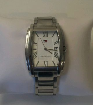 Tommy Hilfiger Armbanduhr Metallband ♤ Silber ♤ T10167 Water Resistant Stainless Bild
