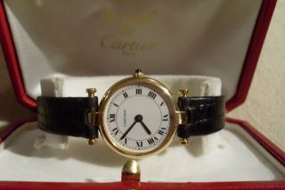 Cartier Uhr Vendome Bild