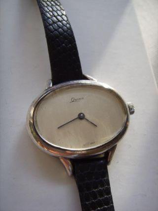 Quinn 925 Silber Damen Armbanduhr Vintage Lady Watch Bild