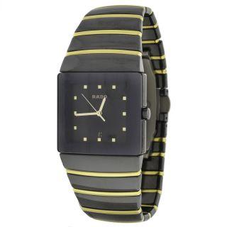 Armbanduhr Unisex Rado Sintra Jubile 18k Gelbgold & Keramik Bild