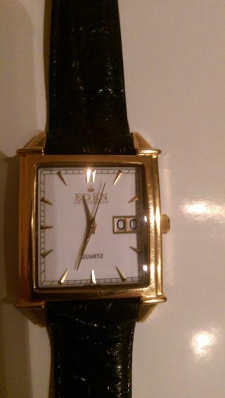 Eden Switzerland Herren Armbanduhr - Quartz - 10042h Bild