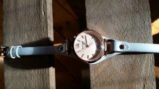 Fossil Damen - Armbanduhr Georgia Lederband Bild