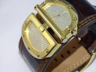 Schöne Guess Uhr Vergoldet Leder Armband W12505l2 Bild