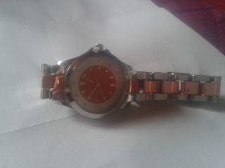Armbanduhr In Silber - Roségold - Optik Bild