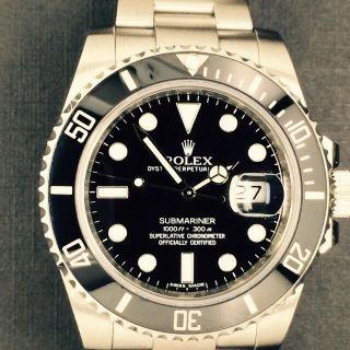 Rolex Submariner Date Mit Keramiklünette,  Ref.  116610ln Bild