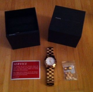 Marc Jacobs Mbm3077 Damen - Armbanduhr Rosegold Bild