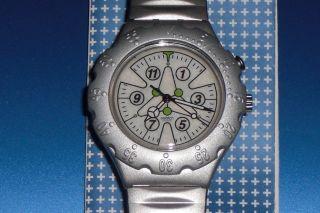 Swatch Irony Scuba Loomi Sea Urchin Yds9000 Mit Batterie,  Ovp Und Papiere Bild