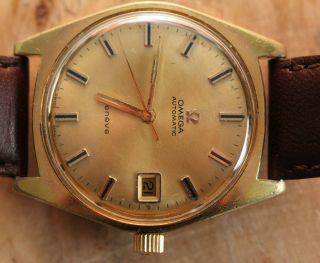 Omega Geneve Armbanduhr Automatik Uhrenwerk Mit Datumsanzeige Bild