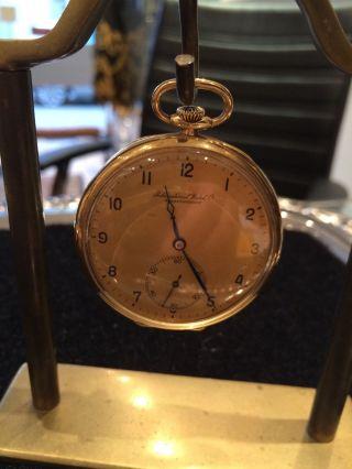 Iwc Schaffhausen Gold 585 60,  9 Gram Schwer Hand Aufzug Bild