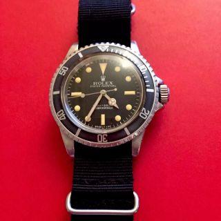 Rolex Submariner Von 1969 Bild