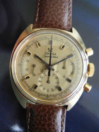 Omega Seamaster Chronograph 18k Gold,  Referenz Nummer 145.  016 Bild