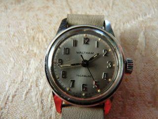 Armbanduhr Waltham Schweiz Uhr Damen Handaufzug Bild
