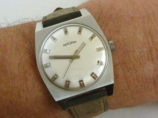 Schöne Bergana Herren Armbanduhr Sehr Flach Bild