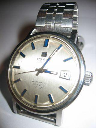 Vintage Tissot Visodate Automatic Seastar T.  12 Herren - Armbanduhr Herrenuhr Bild