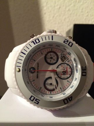 Ice Watch Bmw Motorsport Edition Big Big Chronograph Weiß Bm.  Ch.  We.  Bb.  S.  13 Bild