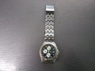 Jacques Lemans Jl 754 Edelstahl Chronograph Für Sammler Bild