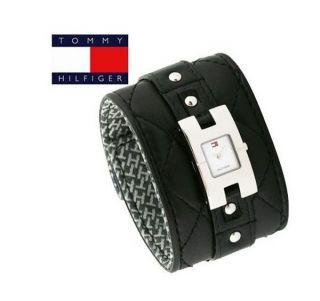 Ausverkauf Tommy Hilfiger Damenuhr 1700340 Breitband Big Schwartz Uvp Bild