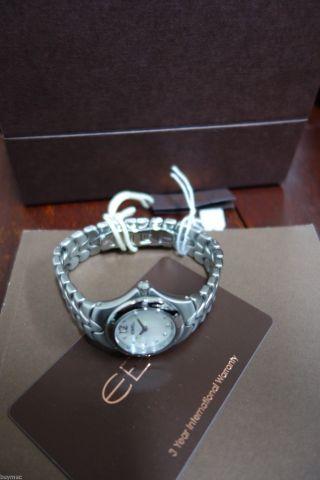 Neue Ebel Sportwave Mit Brillanten Perlmutt Blatt Uhr In Stahl - 28mm Bild