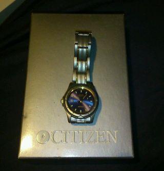 Citizen Titanium Quarzuhr Wr 100 Uhr Armbanduhr Uhren Bild