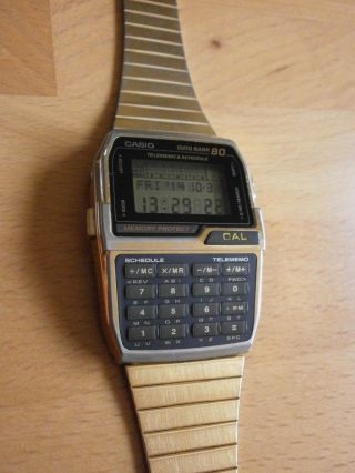 Casio Dbc - 800 Armbanduhr Vintage Bild